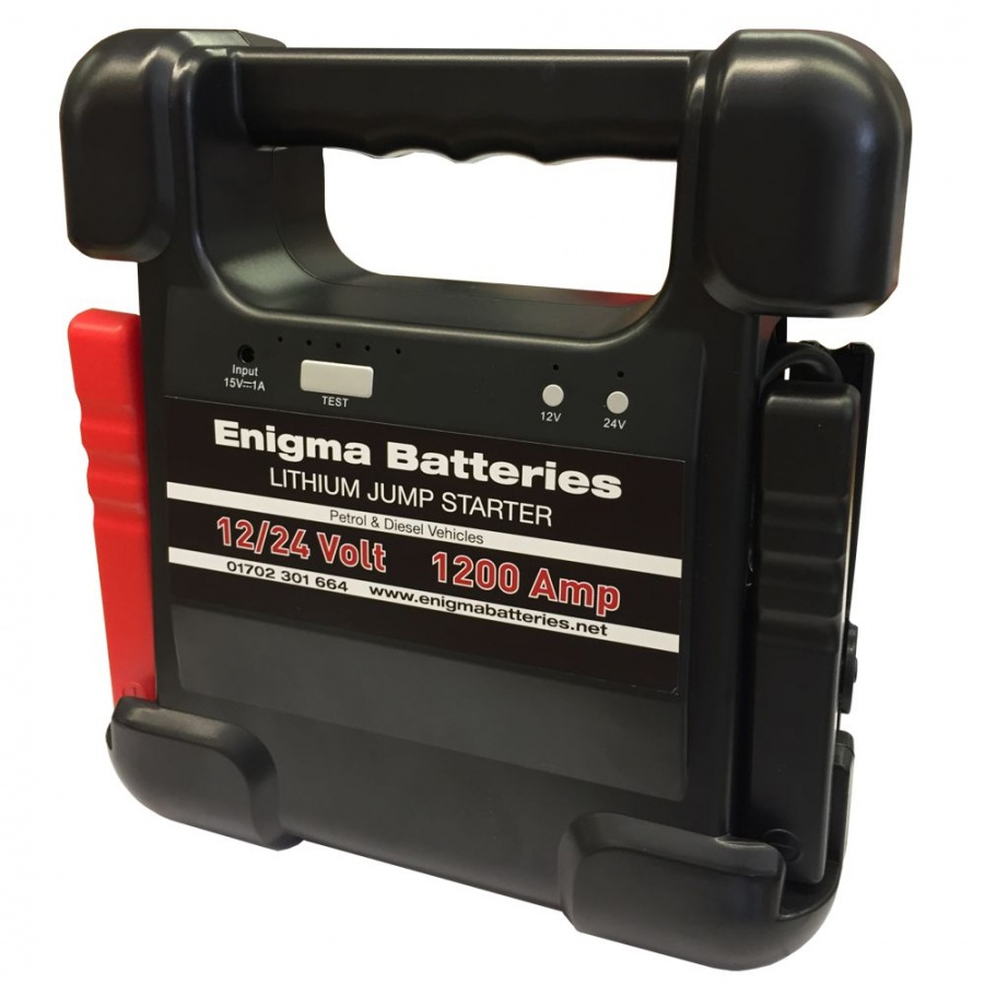 enigma batteries supreme 1200 amp 12 24 volt lithium jump. Black Bedroom Furniture Sets. Home Design Ideas