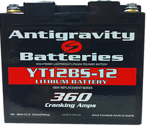 Antigravity Battery YT12BS-12