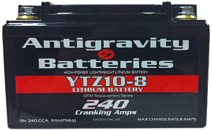 Antigravity Battery YTZ10-8