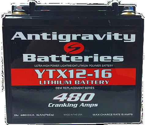 Antigravity Battery YTX12-16