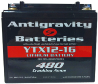 Antigravity Battery YTX12-16